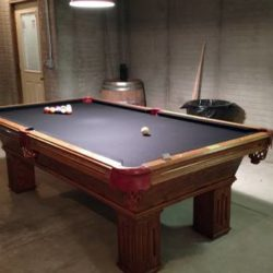 8' Olhausen Gem Pool Table