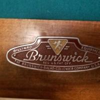 1946 Brunswick Pool Table