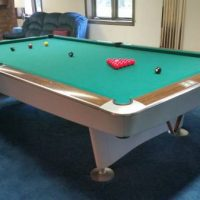 Brunswick Snooker Pool Table And Accessories