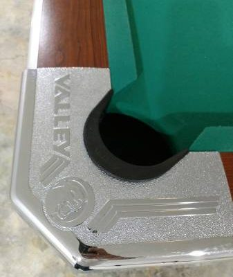 """Valley Pool Table """"Bar Box"""" with Light"""
