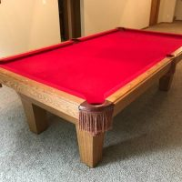 Olhausen 8 Foot Pool Table (SOLD)