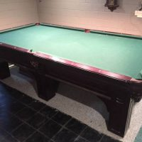 Olhausen 9' 6 Leg Custom Pool Table