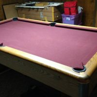 9' AMC 3 Piece Slate Pool Table