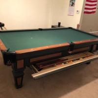 8' Olhausen Pool Table